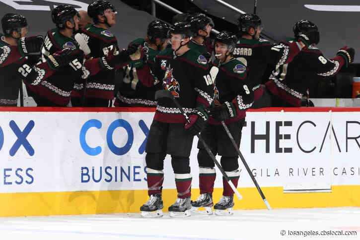 Coyotes Rally From 3 Goals Down To Beat Ducks 4-3