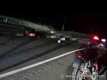 Guarda de empresa de transporte fallece tras ser embestido en Yuty - ÚltimaHora.com