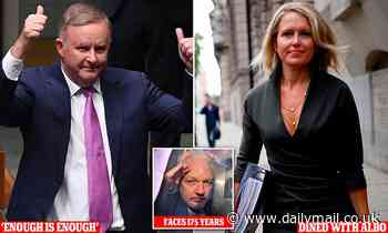 Anthony Albanese calls for Julian Assange to be released from British jail after 10 years