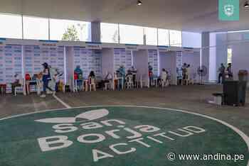 San Borja habilita centro de vacunación contra covid-19 en alianza con EsSalud - Agencia Andina
