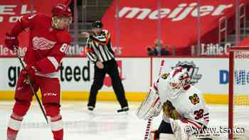 Red Wings hold off Panthers after Brome's first NHL goal - TSN