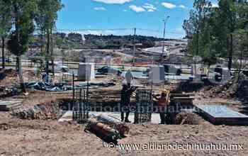 Avanza 10 % construcción de puente en El Encino - El Diario de Chihuahua