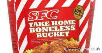 SFC Chicken Poppets and Take Home Boneless Bucket recalled in UK as five die