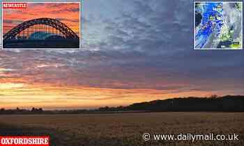 UK weather: Britain awakes to stunning Saharan sunrise with 63F highs on the way