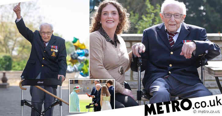 Captain Sir Tom Moore asked for headstone to read 'I told you I was old'