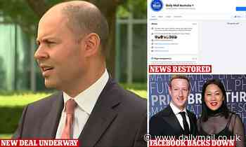 Facebook news ban: Australian ministers agree to water down new laws