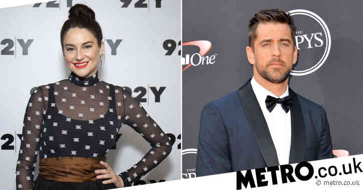 Shailene Woodley confirms she got engaged to NFL legend Aaron Rodgers 'a while ago'