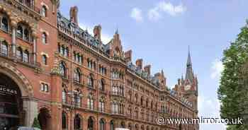 Inside a stunning flat for sale at iconic Harry Potter railway station