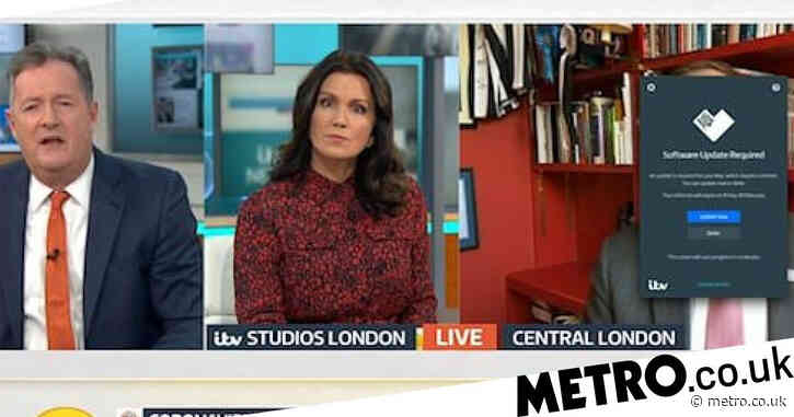Matt Hancock blunder as 'software update' interrupts Piers Morgan's fiery grilling on PPE shortage