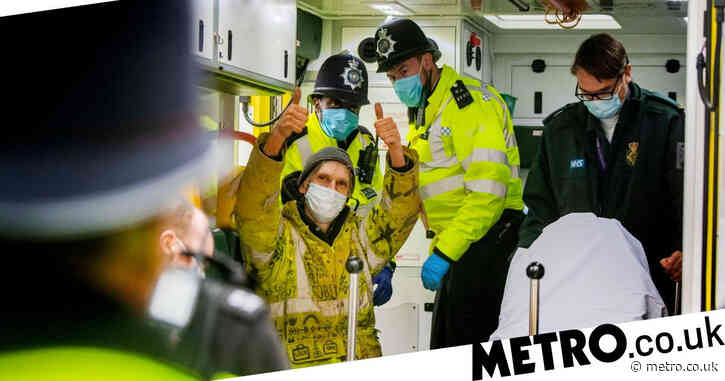 Anti-HS2 activist charged over underground tunnel protests