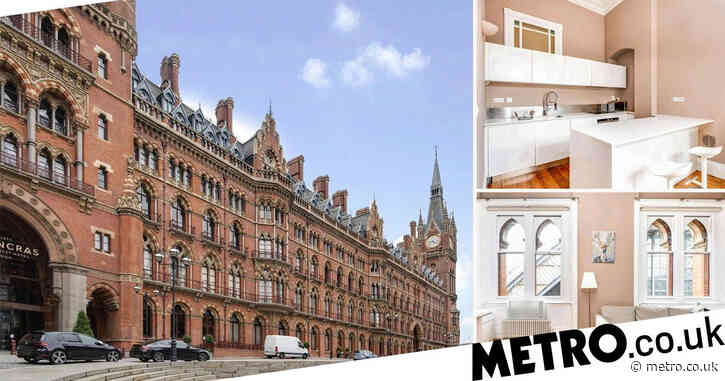 Flat inside St Pancras station with gym and Marriott concierge up for sale at £625,000