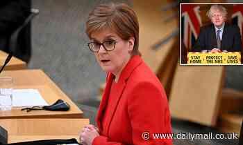 Nicola Sturgeon launches rival lockdown roadmap for Scotland