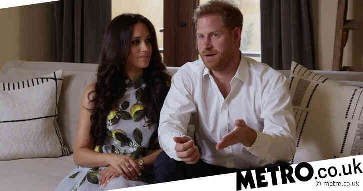 Harry and Meghan make first appearance since being stripped of patronages