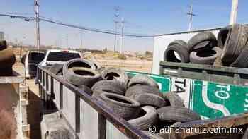 #Juarez   Realizan operativo de desllanteo en diversas colonias de la ciudad - Adriana Ruiz
