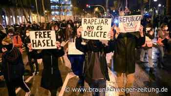 Barcelona: Neue Proteste gegen Haft für Rapper Pablo Hasél