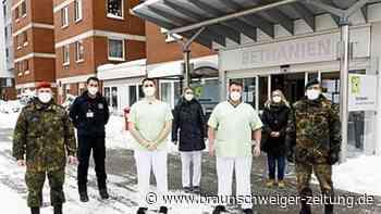 Soldaten helfen Stadt Braunschweig bei Corona-Tests