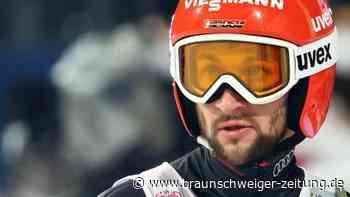 """Nordische Ski-WM: Gesicht der deutschen Skispringer: """"Eisei"""" und die Emotionen"""