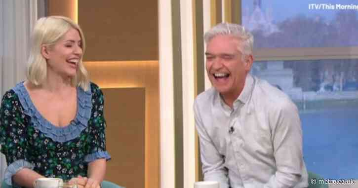 Holly Willoughby says she might 'lick Phillip Schofield's face' when lockdown lifts in June