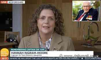 Captain Sir Tom Moore's daughter reveals his funeral wishes, including writer-inspired epitaph
