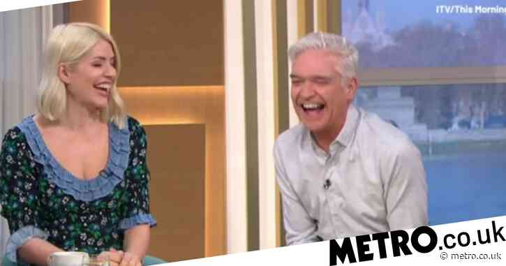 Holly Willoughby plans to 'lick Phillip Schofield's face' when lockdown lifts in June – but he's not so sure