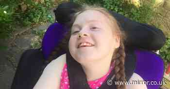 Brave disabled girl, 13, 'loses her smile' after year of lockdown shielding pain
