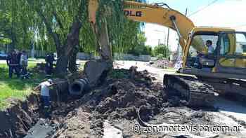 Con inversión municipal, avanza una nueva obra hidráulica en General Pacheco - Zona Norte Visión