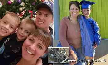 Father faces driver who drove truck that killed Jessica West and son in Kingston near Ballarat VIC