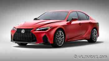 2022 Lexus IS 500 F Sport debuts with big V8, but not for Europe