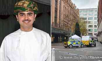 Two men accused of stabbing Omani sheikh's son outside Harrods will stand trial for murder in July
