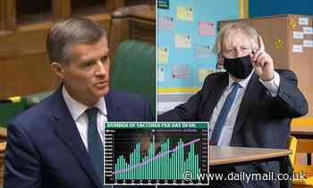 Tories slam 'dodgy assumptions' behind Boris Johnson's lockdown 'roadmap'