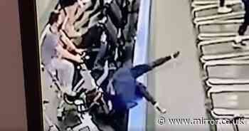 """Mum """"still laughing"""" after her attempt to remove jumper on treadmill went wrong"""