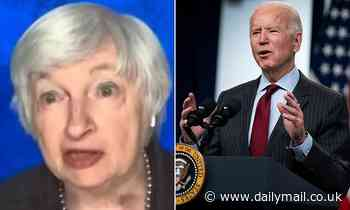 Janet Yellen says she is open to increasing corporate taxation