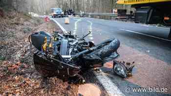 Odenthal/Much/Kempen: Vier Motorradfahrer sterben in NRW - BILD