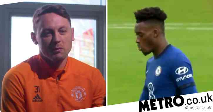 Manchester United star Nemanja Matic sends message to Chelsea's Callum Hudson-Odoi over substitution controversy