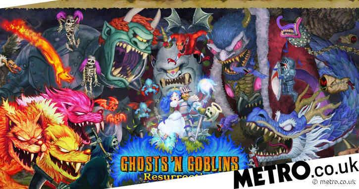 Ghosts 'N Goblins Resurrection review – Arthurian legend
