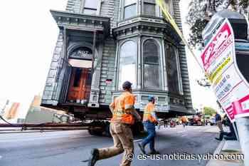 Casa histórica recorrió las calles de San Francisco hacia una nueva dirección - Yahoo Noticias