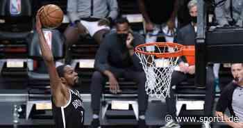 Kevin Durant schlägt Warriors und Steph Curry bei Rückkehr nach Golden State - SPORT1