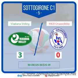 #SerieB: l'MGR Grassobbio chiude l'andata con un ko con Viadana - Comunicati-Stampa.net