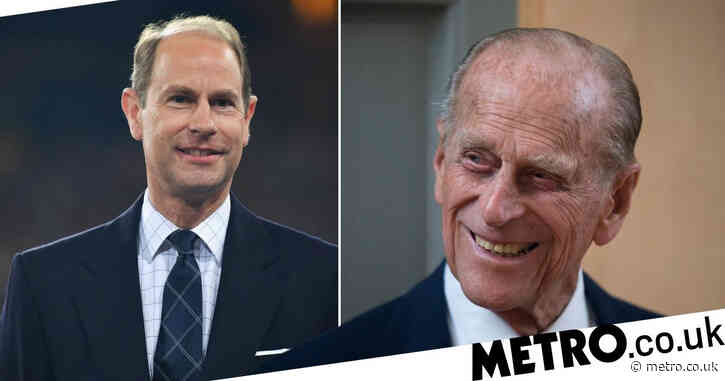 Prince Edward says Philip 'a lot better' and looking forward to leaving hospital