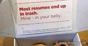 Job hunter disguises CV in a bid to get noticed - but others brand it 'creepy'