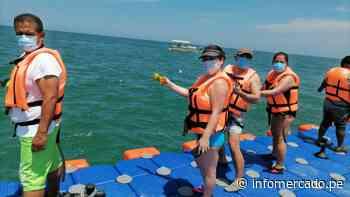 Aumento de turismo: Plataforma flotante en playa Zorritos atrae más visitante a Tumbes - Infomercado
