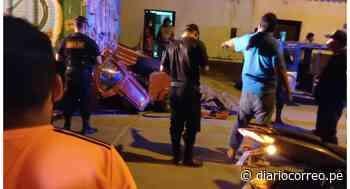 Mototaxi se estrella contra camión y deja un muerto en Chepén - Diario Correo