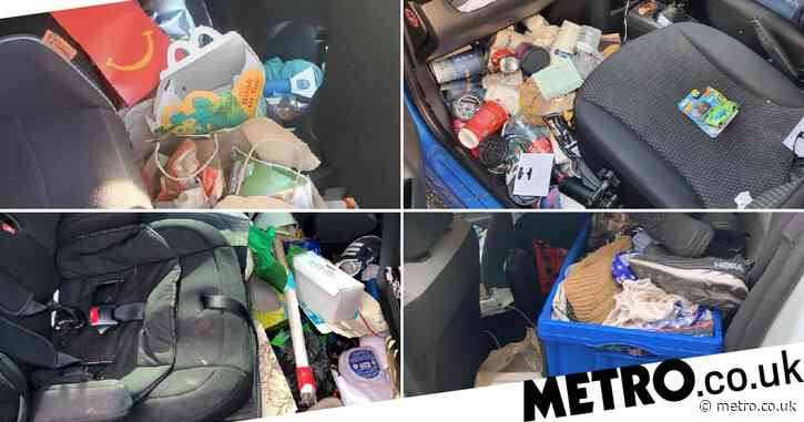 Competition reveals the UK's messiest cars