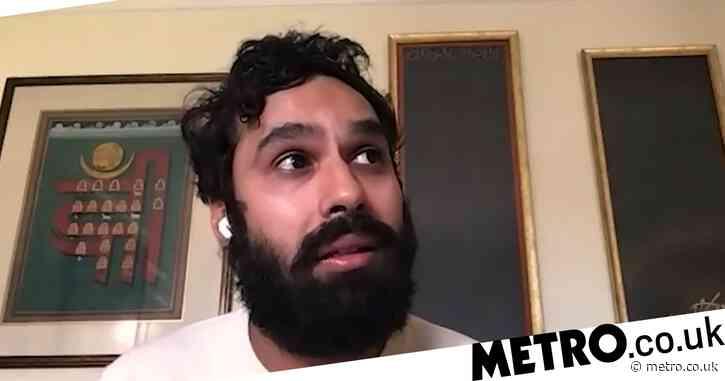 Big Bang Theory's Kunal Nayyar suffered panic attacks so bad he was too scared to look at car keys