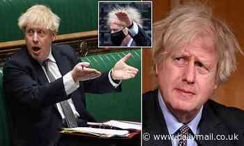 Carrie gives Boris a well-overdue chop! Piers Morgan reveals PM's fiancee has given him a haircut