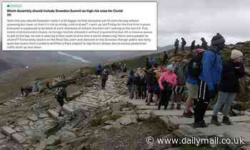 Mount Snowdon would be better if it was moved to England, Tripadvisor reviewers say
