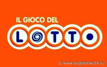 Lotto: pioggia di vincite con la ruota Nazionale, ad Acquaviva delle Fonti quaterna da 62.500 euro - Puglia News 24