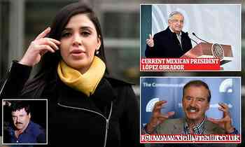 Ex-Mexican president Fox says López Obrador will 'come to the rescue' of El Chapo's wife