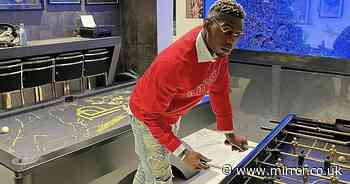 Inside Paul Pogba's £3m home with huge games room and fish tank wall