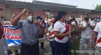 Chulucanas y Tambogrande exigen servicios de saneamiento lrnd - LaRepública.pe